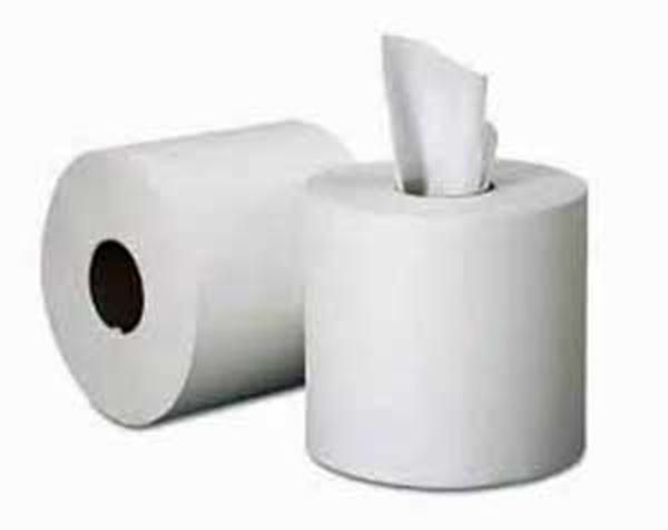 ESSENTIALS 1ply MINI C/FEED WHITE