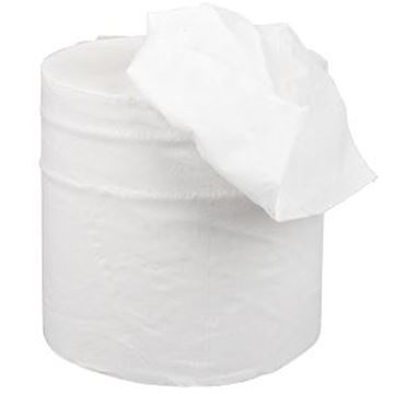 ESSENTIALS 2ply WHITE C/FEED