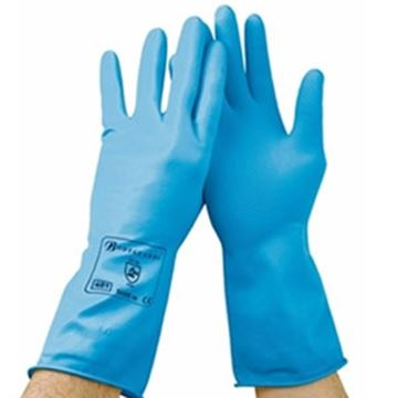Picture of GR01 Premier Household Glove - Blue Large