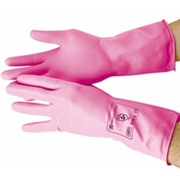 Picture of GR01 Premier Household Glove - Pink Small