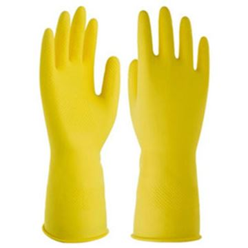 Picture of GR01 Premier Household Glove - Yellow Large