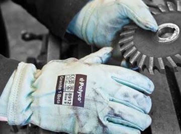 Granite 5 Leather Glove - SIZE 10 Kevlar Liner Size 10