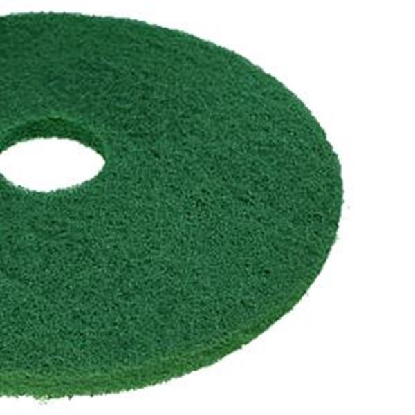 "GREEN 17"" 3M PLUS FLOOR PADS"