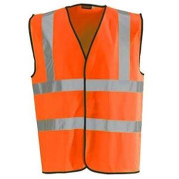 Hi-Visibility Yellow Waistcoat - XLarge