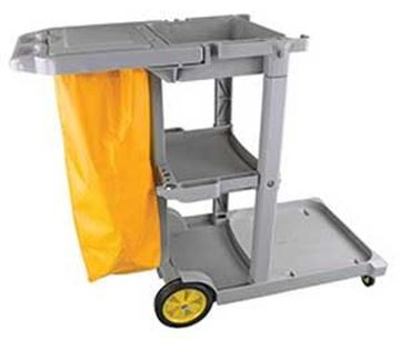 JOLLY TROLLEY - JANITORIAL CART with BAG