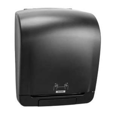 KATRIN SYSTEM TOWEL ROLL DISPENSER - BLACK