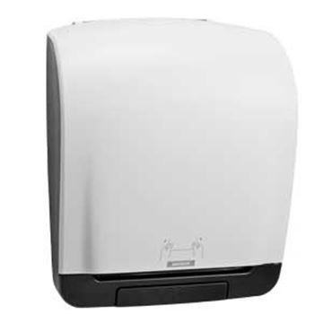 KATRIN SYSTEM TOWEL ROLL DISPENSER - WHITE