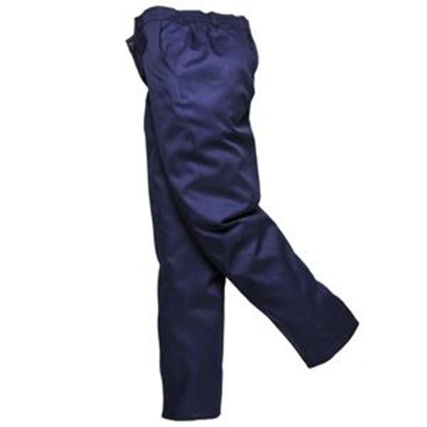 Ladies Elasticated Trousers - Black