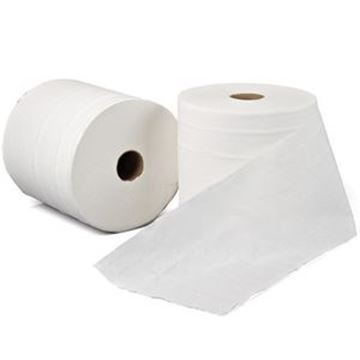 LEONARDO 1ply WHITE TOWEL ROLL