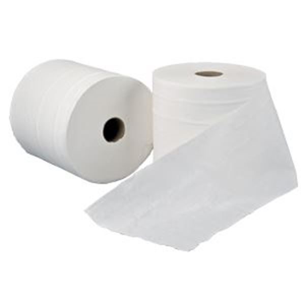 LEONARDO 2ply EMB WHITE TOWEL ROLL