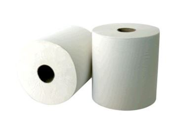 LEONARDO 2ply WHITE TOWEL ROLL