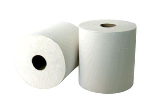LEONARDO 2ply WHITE TOWEL ROLL