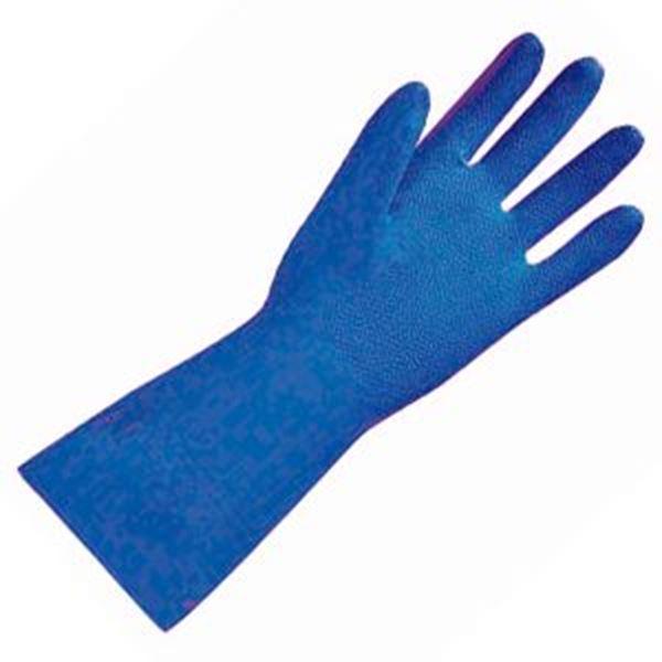 NITRI TECH NITRILE GLOVES - BLUE LARGE