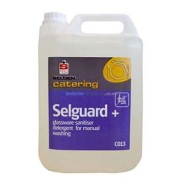 NSS 2x5lt SELGUARD PLUS GLASS DETERGENT SANIT