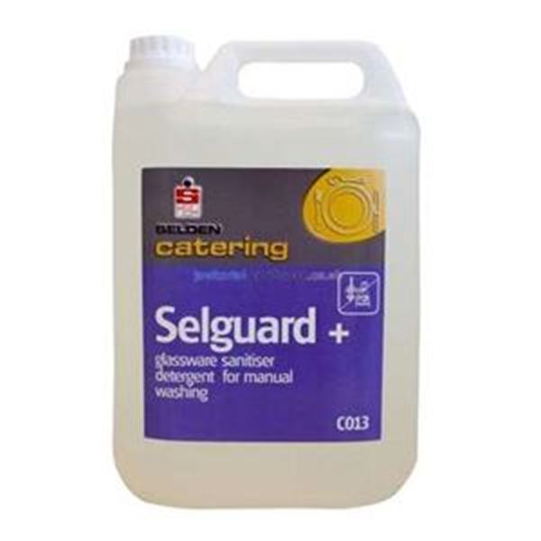 NSS 2x5lt SELGUARD PLUS GLASS DETERGENT SANIT