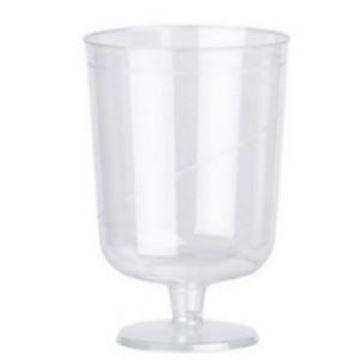 NSS x612 6oz DISPLAST PLASTIC WINE GOBLET
