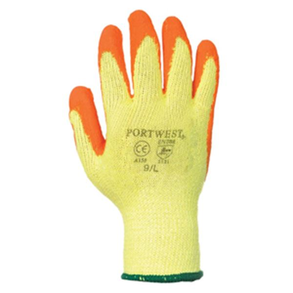 Picture of Orange Fortis Grip Glove Large