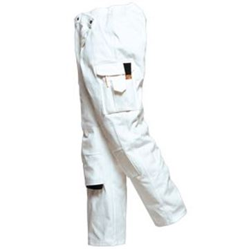 Painters Trousers  100% Cotton - White