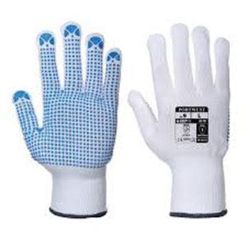 Polka Dot Gloves Large