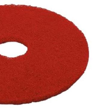 "RED 10"" 3M FLOOR PADS"