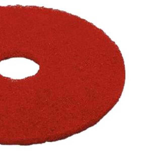 "RED 18"" CONTRACT FLOOR PADS"