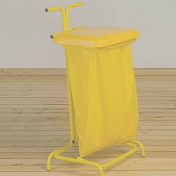 STIK FREE STANDING SACK HOLDER -  YELLOW
