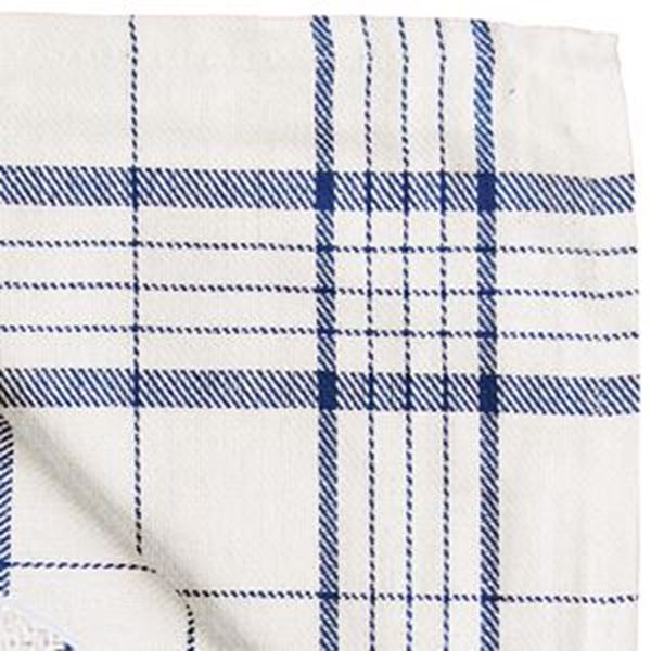 TEA TOWEL HEAVY COTTON TWILL 21x30""