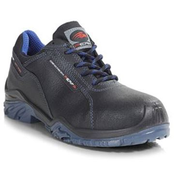 TORNADO LO SAFETY COMPOSITE SAFETY TRAINER SHOES - SIZE 7