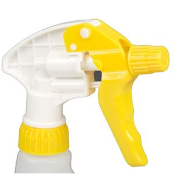 TRIGGER SPRAY HEAD ONLY - YELLOW/WHITE