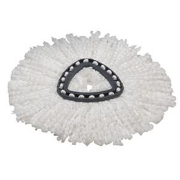 ULTRASPIN WHITE MICROFIBRE MOP HEADS