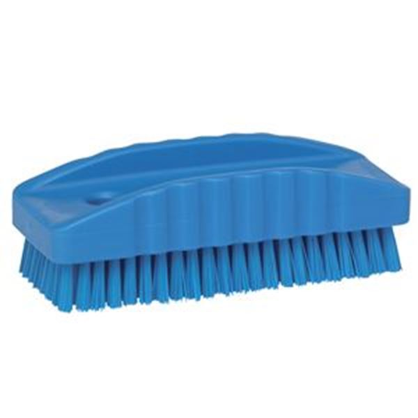 VIKAN NYLON NAIL BRUSH - BLUE