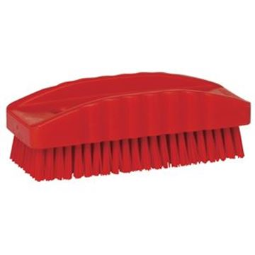 VIKAN NYLON NAIL BRUSH - RED