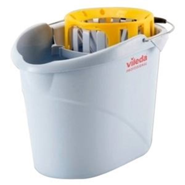 VILEDA YELLOW SUPERMOP BUCKET & WRINGER
