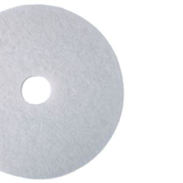 """WHITE 15"""" CONTRACT FLOOR PADS"""