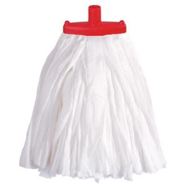 BIG WHITE PRAIRIE SOCKET MOP - RED