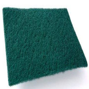 """Picture of x10 ECONOMY SCOURING PADS 22x15cm - GREEN 9x6"""""""