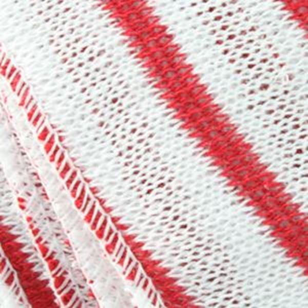 NW DISHCLOTH - RED STRIPE