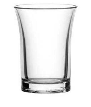 CE POLYSTYRENE SHOT GLASS