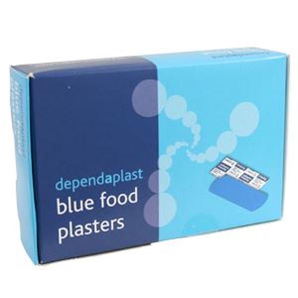 DETECTABLE PLASTER - BLUE