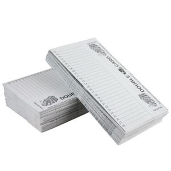 DOUBLE SIDED DOMINO CARDS