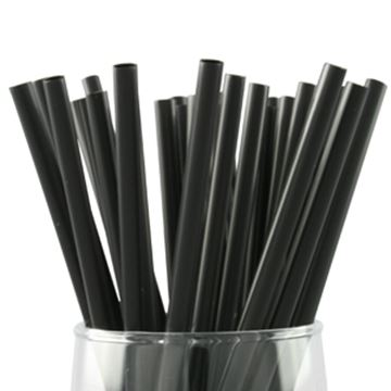 "Picture of x1000 4"" FRAPPE STRAW - BLACK"