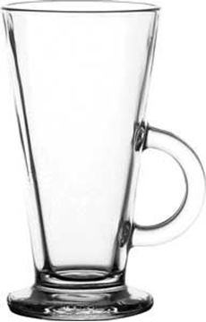 TOUGHENED COLUMBIA LATTE GLASS
