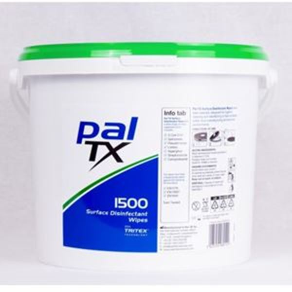 PAL TX SURFACE DISINFECTANT WIPES