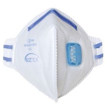 Picture of x20 FFP2 VALVE DUST MIST RESPIRATOR FOLD FLAT