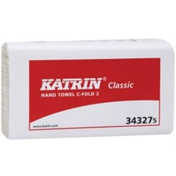KATRIN 2ply CFOLD TOWEL - WHITE