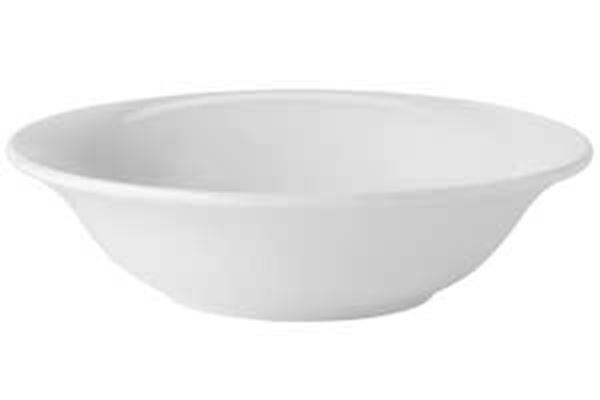 """Picture of x24 6"""" PURE WHITE OATMEAL BOWL"""