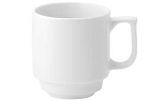 Picture of x36 10oz PURE WHITE STACKING CUPS