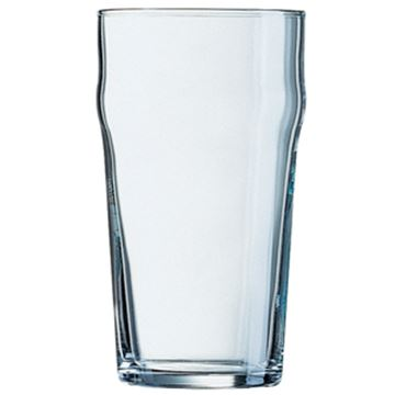 Picture of x36 23oz FRENCH NONIC GLASS - PLAIN