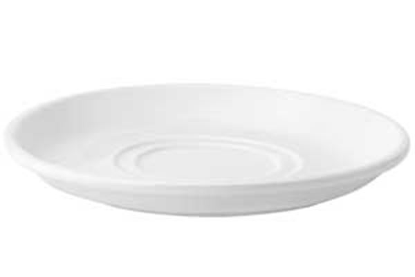 """Picture of x36 7"""" PUREWHITE DOUBLE WELL SAUCER"""