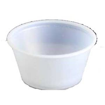 Picture of x50 50ml/2oz CLEAR SAUCE POTS